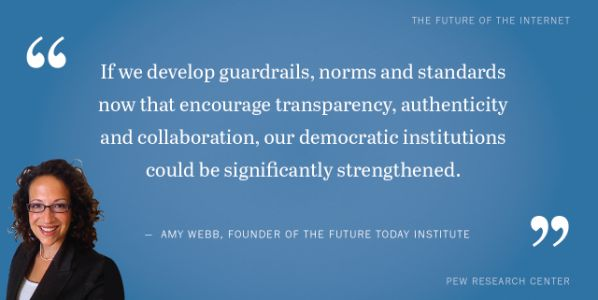 Shareable quotes from experts on the future of democracy