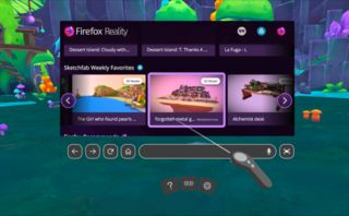 Firefox Reality lets you browse the web on the HTC Vive and Oculus Go