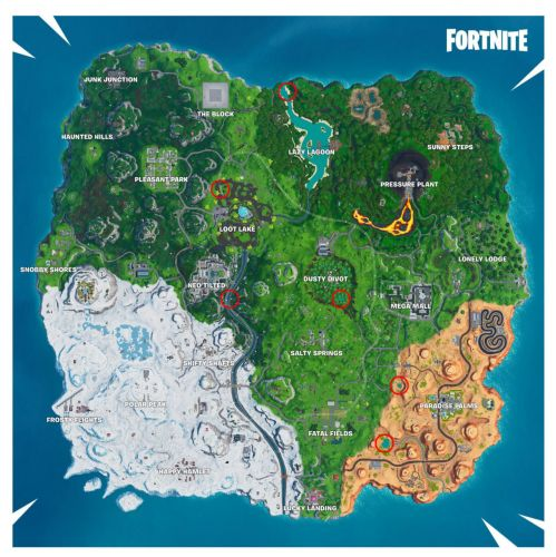 Fortnite: Where To Dance At Different Beach Parties - 14 Days Of Summer Challenge Locations