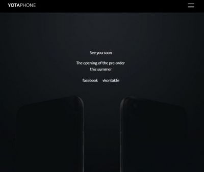 E-ink hybrid YotaPhone 3 announced, but don't expect to see it anywhere outside of Asia