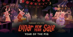 Steam's Lunar New Year Sale discounts thousands of games