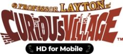 Professor Layton and the Curious Village is out on iOS and Android today too!