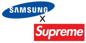 Samsung partnered with a Supreme knockoff brand at the A8s launch