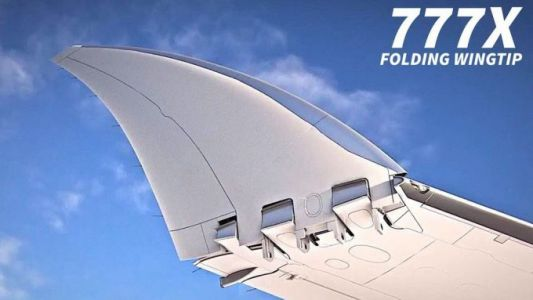 Boeing 777X jetliner folding wing design gets FAA approval