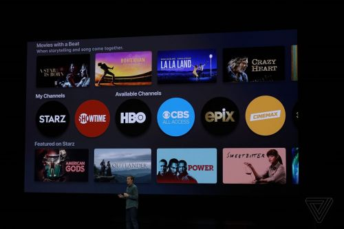 Apple announces redesigned TV app and Apple TV Channels subscriptions