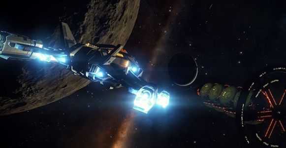 The Elite Dangerous: Beyond - Chapter 1 expansion has a long name and a release date
