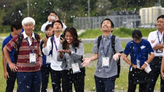 Olympic Organizers Test Fake Snow For Summer Games