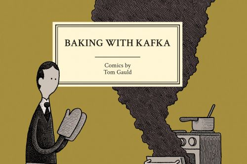 Cartoonist Tom Gauld discusses his latest book Baking with Kafka