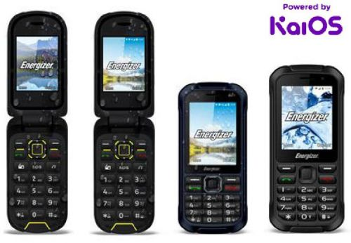 Eight New Energizer® feature phones to run on KaiOS