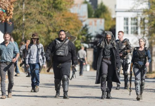 What's on TV: 'The Walking Dead,' 'Gran Turismo Sport,' NBA
