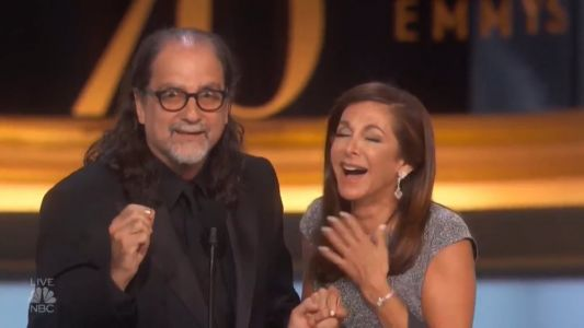 Here's That Proposal That Happened Live During Last Night's Emmys