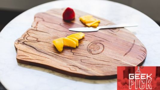 GEEK PICK: Guardians of the Galaxy Baby Groot Wooden Cutting Board