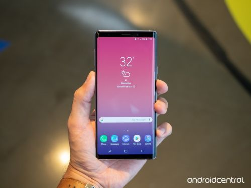 How to take a screenshot on the Galaxy Note 9