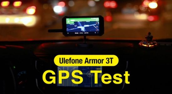 Ulefone Armor 3T GPS test video released