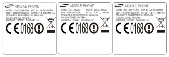 Three New Samsung Galaxy J5 (2017) Models Certified By FCC