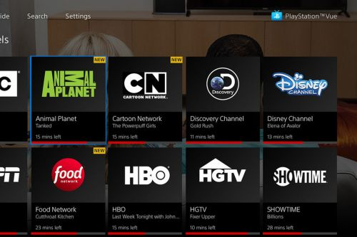 PlayStation Vue is now integrated with Apple's TV app