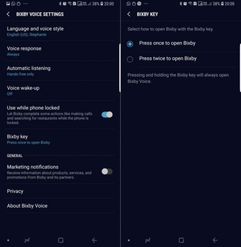 Samsung Tackles Accidental Bixby Key Presses With New Update