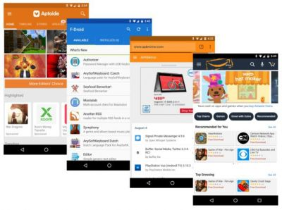 How to get Android apps without using the Play Store