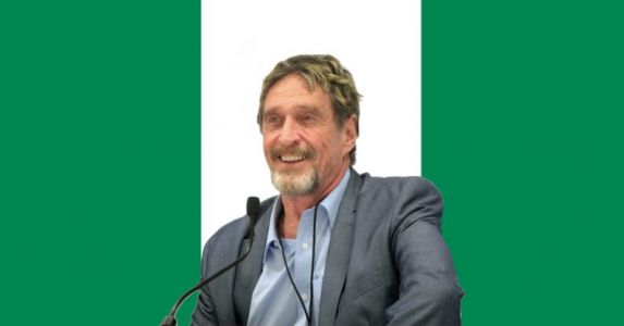 Nigeria's ruling party may have sold its verified Twitter handle to John McAfee