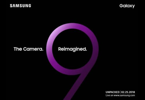 Samsung will unveil the Galaxy S9 on February 25th