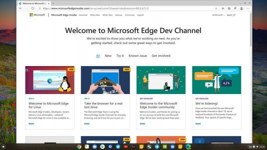 How to try out Microsoft Edge right now on a Chromebook
