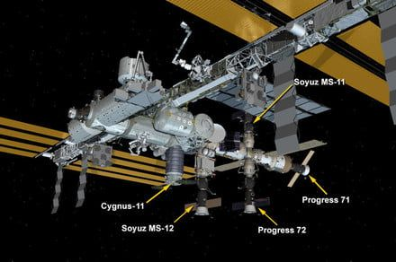 Resupply mission carries 7,600 lbs of scientific equipment to ISS
