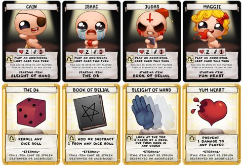 'The Binding of Isaac: Four Souls' Is Injecting A Lot Of Fun Into Kickstarting A Game