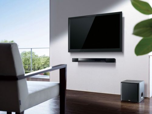 Upgrade from your TV's muddy speakers to this $190 Yamaha Bluetooth sound bar