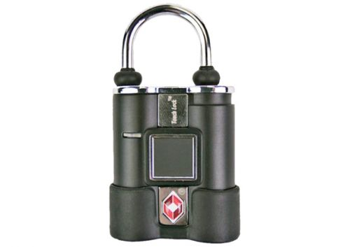 Who needs keys and combos? Your fingerprint opens this TSA approved luggage lock