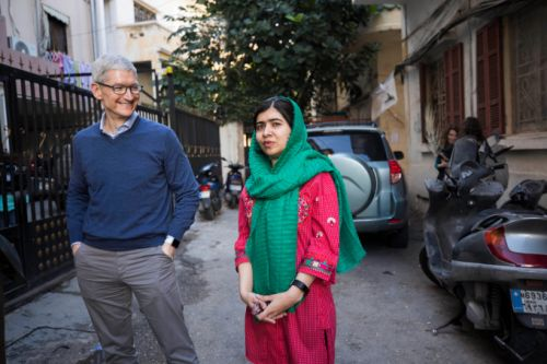 Apple partners with Malala Fund to help girls receive quality education