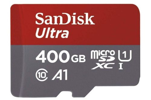 SanDisk's pint-sized, big capacity 400GB microSD card only costs $57 right now