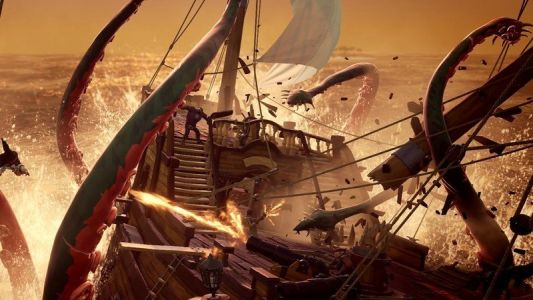 Sea of Thieves will get 'fire' on ships, Rare accidentally confirms