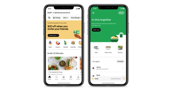 Uber officially launches its grocery delivery service