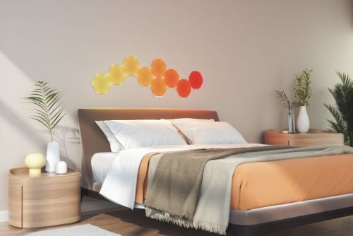 Nanoleaf's Shapes light panel range goes on sale - Hexagons available first