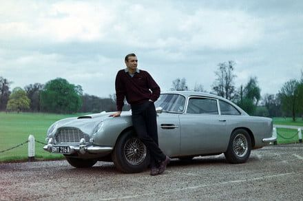 James Bond's Aston Martin DB5 from 'Goldfinger' may have been found