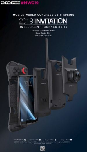 DOOGEE Launching Modular S90 Handset At MWC, In Addition To Y Series