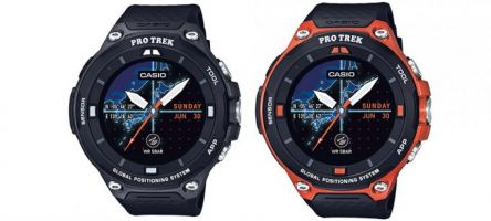 Casio Pro Trek WSD-F20 Android Wear smartwatch now available