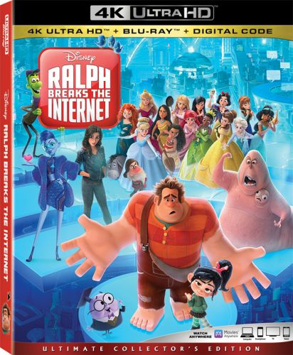 'Ralph Breaks the Internet' 4K, Blu-ray, DVD and Digital Release in February