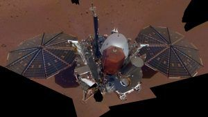 InSight Takes Its First Mars Selfie