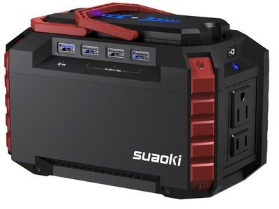Keep everything powered up with $42 off the Suaoki portable generator