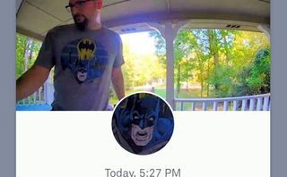 Nest customer is locked out after his doorbell mistakes him for Batman