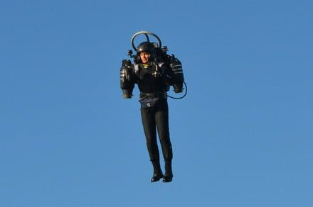 For only $4,950, you can get jetpack lessons from the world's only instructor