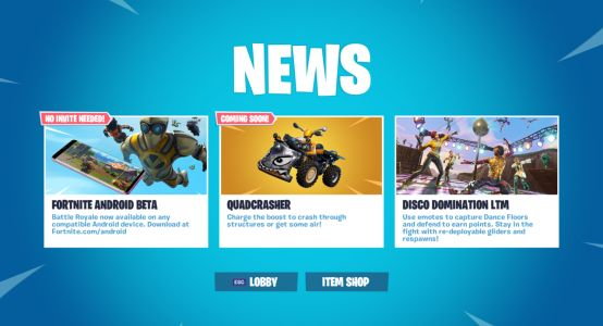 Fortnite's New Vehicle Is Quadcrasher, It Destroys Things