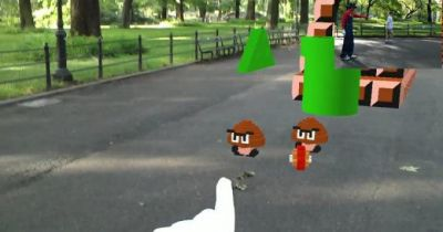 This is how Super Mario Bros. would have play in the real world