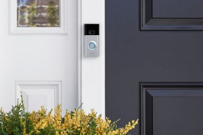 Keep tabs on your home no matter where you are with the Ring doorbell