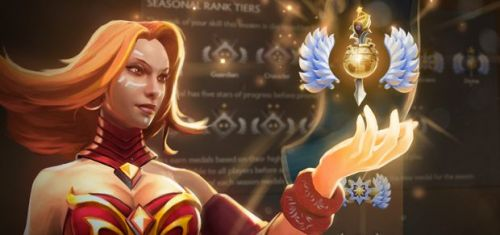 Dota 2's matchmaking update introduces rank medals