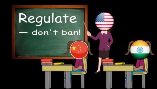 Cryptocurrency scams in China and India show regulation is always favorable to banning
