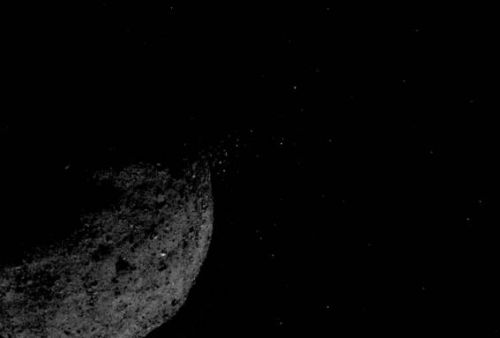 NASA says Bennu surprises include particle plumes and rough terrain
