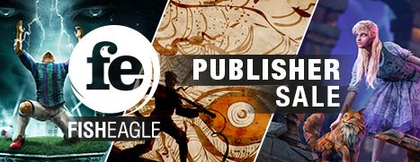 Daily Deal - Fish Eagle Publisher Sale, Up To 80% Off
