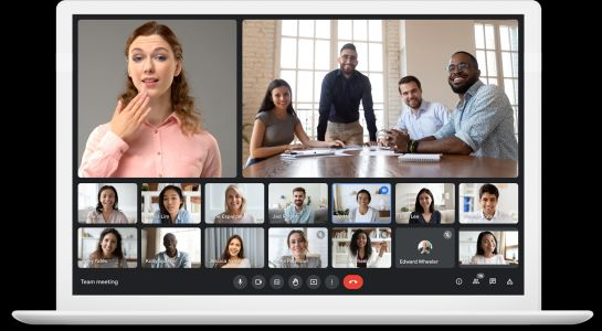 Google Meet is getting a mouth-watering visual upgrade
